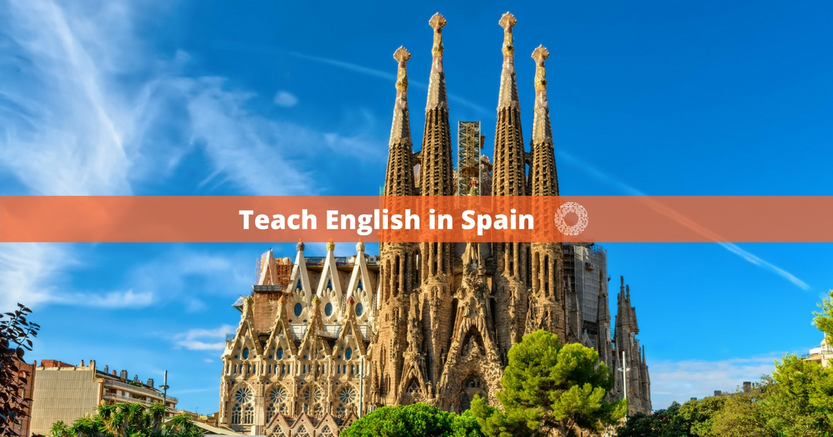 What is the average teaching salary in Spain